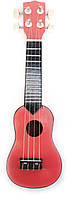 Гитара акустическая Укулеле дерево розовая
