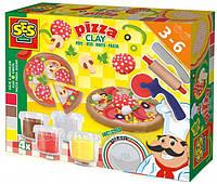 Незасыхающая масса для лепки - Пицца