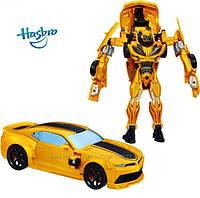 Автобот Бамблби Крути- вращай Bumblebee Flip and Change Hasbro оригинал Hasbro импорт из завода Китая
