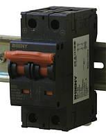 Выключатель автоматический BB1-63 2P 50 600V DC (50А / 600В постоянного тока, 2-х полюсный, неполярный)