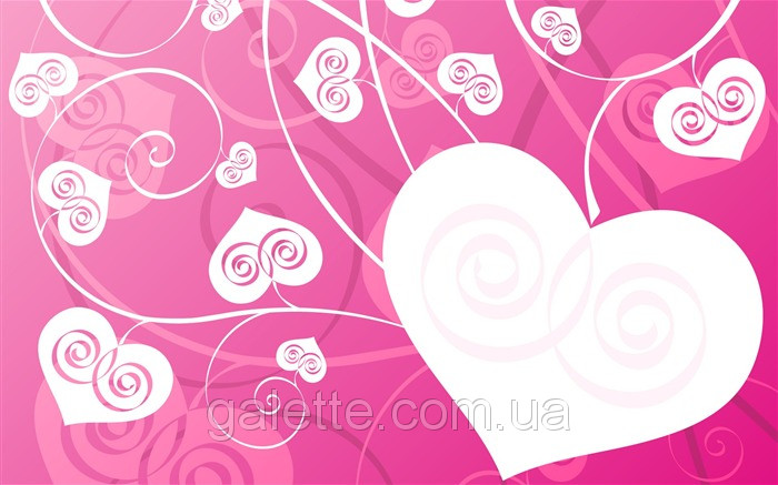 Вафельная картинка Валентинка A4 Галетте -01262