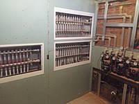 Отопления дома 290 м2 в г.Полтава.Коллектор на 3 выхода,насосные группы,3 распределительных коллектора(теплый пол+радиаторы+внутрипольные конвекторы)