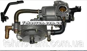Карбюратор на генератор (мотоблок) 168, и газовый редуктор