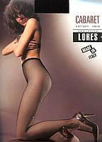 Колготы сетка CABARET от LORES без шортиков