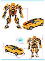 Игрушка робот трансформер Бамблби, из кинофильма Трансформеры 4 оригинал Hasbro импорт из завода Китая 18 см