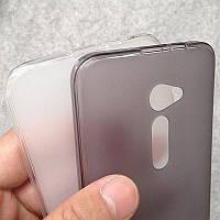 Силиконовый чехол для Asus ZenFone 2 ZE500CL ультратонкий