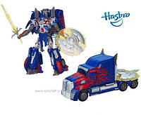 Трнсформер Оптимус Прайм Лидер класс из к-ф Трансформеры 4 оригинал Hasbro импорт из Китая 25см