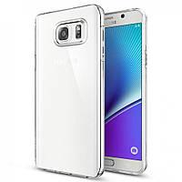 Силиконовый чехол для Samsung Galaxy Note 5  ультратонкий