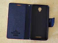 Чехол книжка Goospery для Lenovo A2010 Темно синий