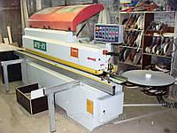 Проходной кромкооблицовочный станок MFB-R3 (Китай) бу 2012 г., в оснащении аспирация и компрессор , фото 1