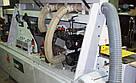Проходной кромкооблицовочный станок MFB-R3 (Китай) бу 2012 г., в оснащении аспирация и компрессор , фото 2