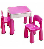 Детский комплект Столик и стульчик MAMUT 899 фиолет