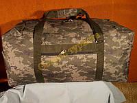 Сумка рюкзак камуфляжная 1224 пиксель зеленый 70 литров