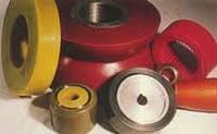 Гуммирование колес полиуретаном