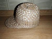 Кепка плетенная из рогозы. , фото 1