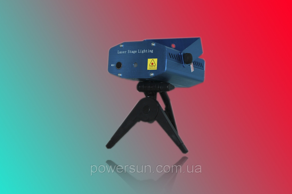 Лазерный проектор Mini Laser stage lighting YX-09