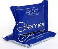 Салфетки влажные для удаления краски с кожи Estel