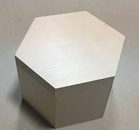 Шкатулка куфр. Шестиугольная. 20 см (Заготовка)