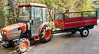 Прицеп-самосвал к трактору ПТС-2,5У (г/п 2,5 т, кузов 2,75х1,6 м)