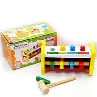 Развивающая деревянная игрушка Стучалка