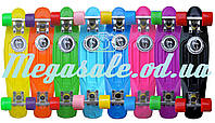 Скейтборд/скейт Penny Board (Пенни борд фиш) Fishskateboards: 8 цветов, до 80кг