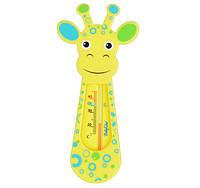 """Термометр для ванны желтый """"Жираф"""" BabyOno 774 (возраст 0m+)"""