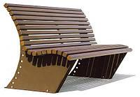 Скамья деревянная Роялта ТМ АМФ