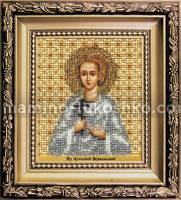 Набор для вышивки бисером Икона святой праведный Артемий Веркольский