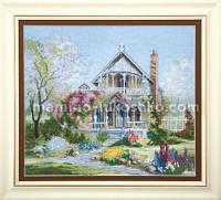 Набор для частичной вышивки крестом Цветущий сад