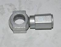 Угольник с гайкой стальной 240-1104115  (240-1104118+ 240-1104119)