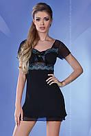 Черно-голубой элегантный пеньюар Basimah TM Livia Corsetti (Польша)