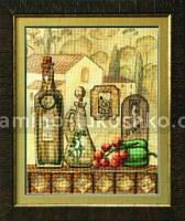 Набор для вышивки бисером и крестом Спелый урожай