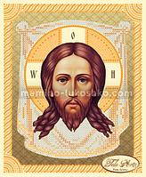 Схема для вышивки бисером Спас Нерукотворный