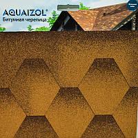 Акваизол Мозаика Битумная черепица (3 м2/уп)