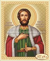 Схема для вышивки бисером Святой Благоверный Князь Александр Невский