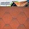 Акваизол Мозаика Огненная лава Битумная черепица (3 м2/уп)