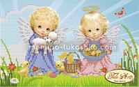 Схема для вышивки бисером Светлый праздник Пасхи