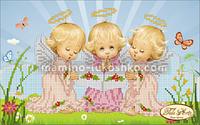 Схема для вышивки бисером Почти идеальный (девочка)