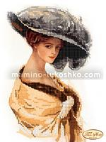Схема для вышивки бисером Фелиция