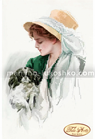 Схема для вышивки бисером Шарлотта