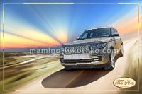 Схема для вышивки бисером На пути к счастью (Range Rover)