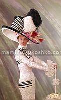 Схема для вышивки бисером Великолепная Одри