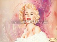 Схема для вышивки бисером Обворожительная Мэрилин