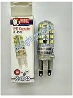 Светодиодная лампа G9 3W 6400K HL 457L