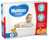 Подгузники Huggies Classic 3 Mega 78 шт