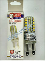 Светодиодная лампа G9 3W 2700K HL 457L
