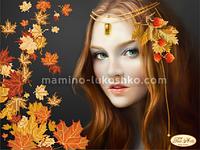 Схема для вышивки бисером Осень