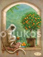 Схема для вышивки бисером Хранитель апельсинового дерева