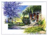 Схема для вышивки бисером Деревенская романтика