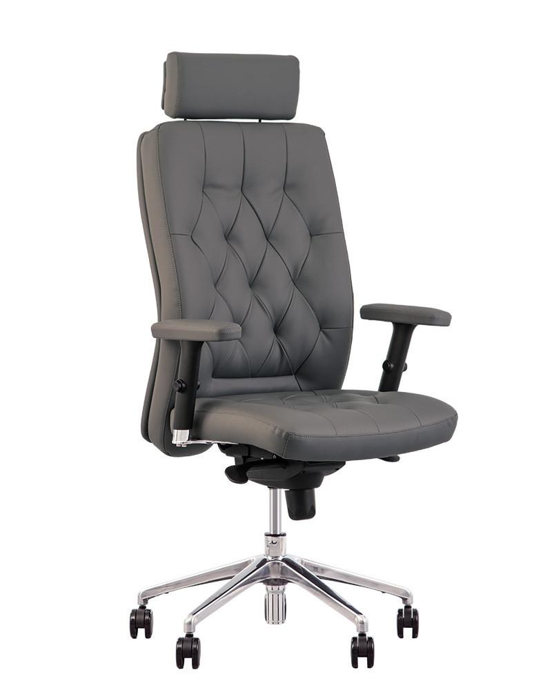 Кресло для руководителей CHESTER R HR steel chrome